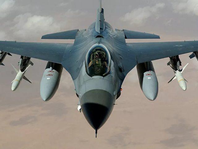US Air Force Pilot Dies in F-16 Jet Crash in South Carolina
