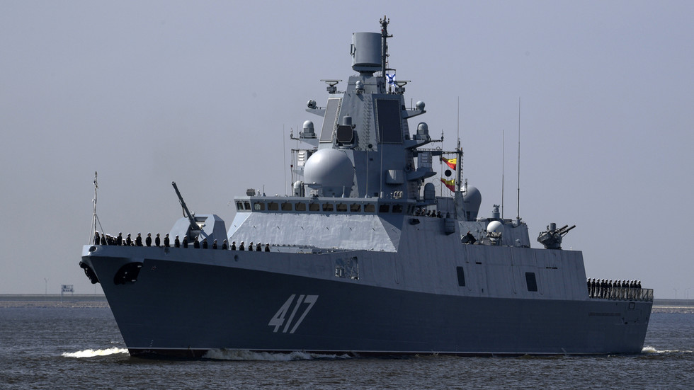 The tests of Russia's ship-based