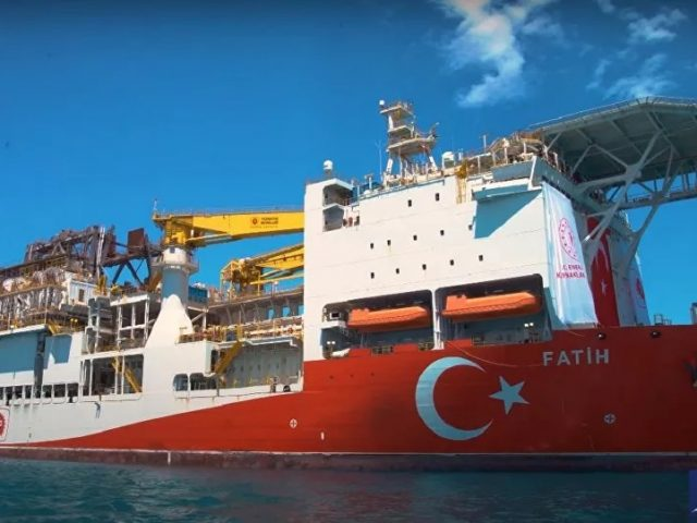 Turkish Drilling Vessel Fatih Begins Gas Exploration in Black Sea