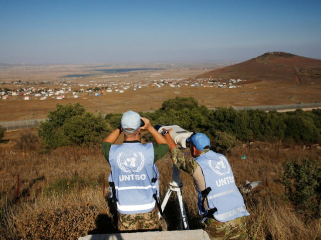 UN suspends two observers in Israel after viral VIDEO of sex in official car