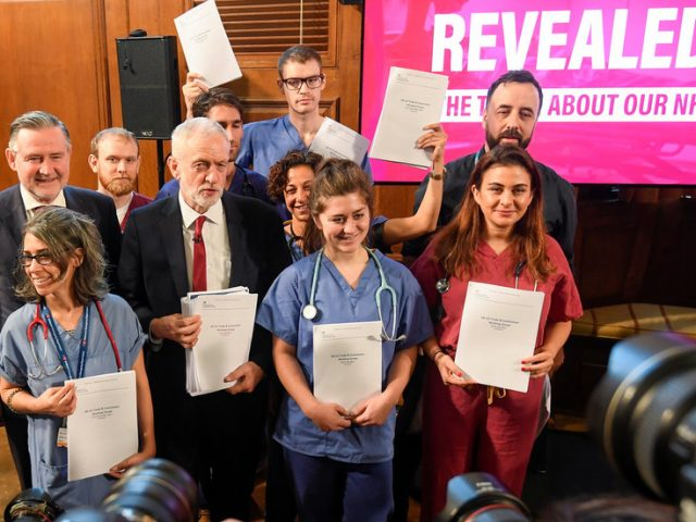 #Corbynwasright trends after Tories vote AGAINST protecting NHS from sell-off in post-Brexit trade deals