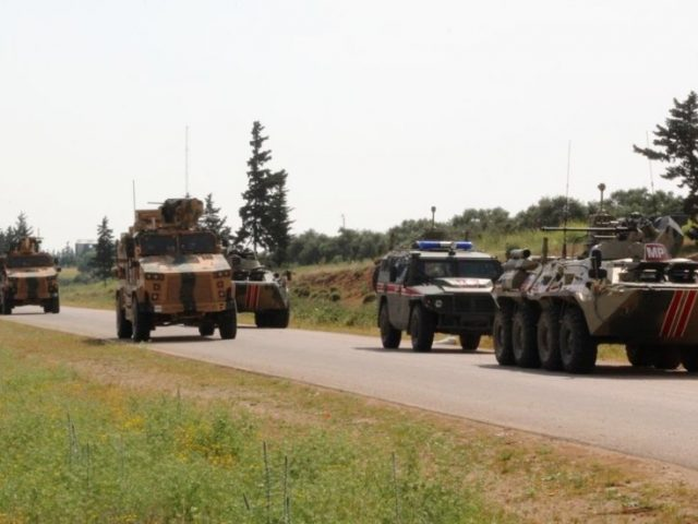 Anti-tank missile hits joint Russian-Turkish convoy in Syria's Idlib, 2 troops injured