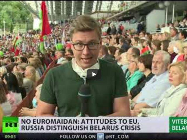 Euromaidan shall not pass | Attitudes toward EU & Russia in Belarus crisis