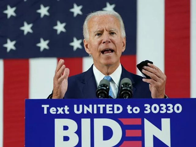Biden Campaign, Affiliates Raise $294 Mln Ahead of November Election