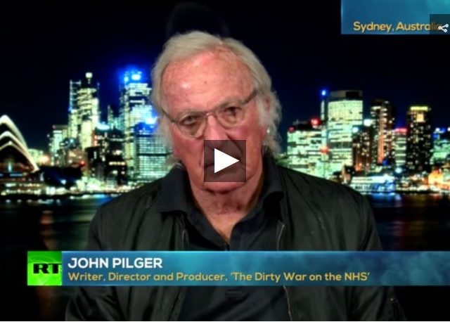 John Pilger: China going into 'state of SIEGE,' will defend itself against the US!