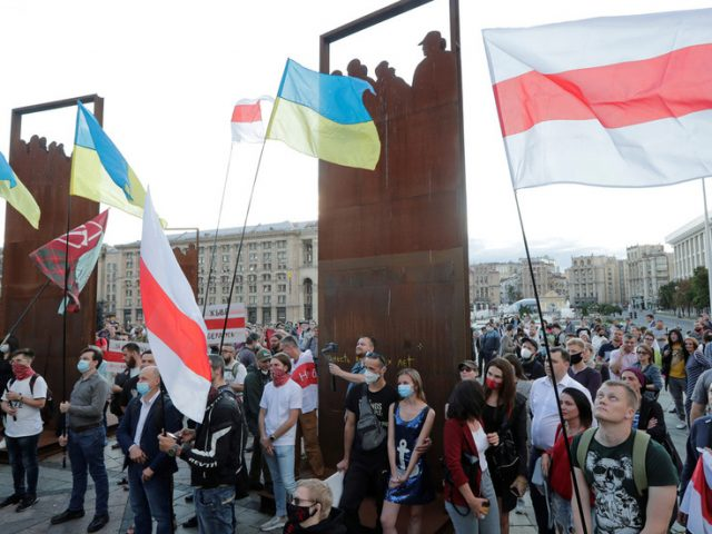 Ukraine recalls Belarus envoy for consultations 'for first time ever', but it's not about protests