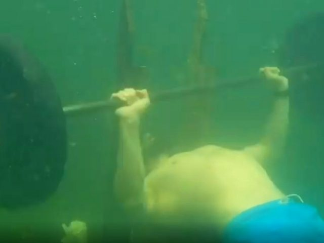 Russian sports instructor sets STUNNING new Guinness World Record… UNDERWATER! (VIDEO)