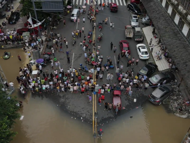 More than 100,000 evacuated as southwestern China stricken by worst floods in decades (VIDEO)