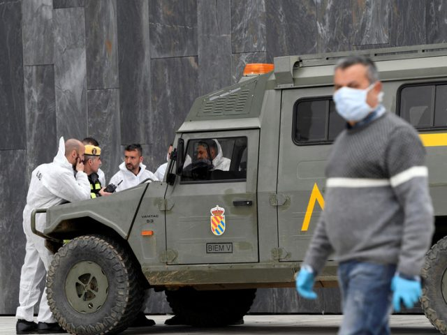 Spanish PM offers to deploy 2,000 troops to help regions trace Covid-19 cases