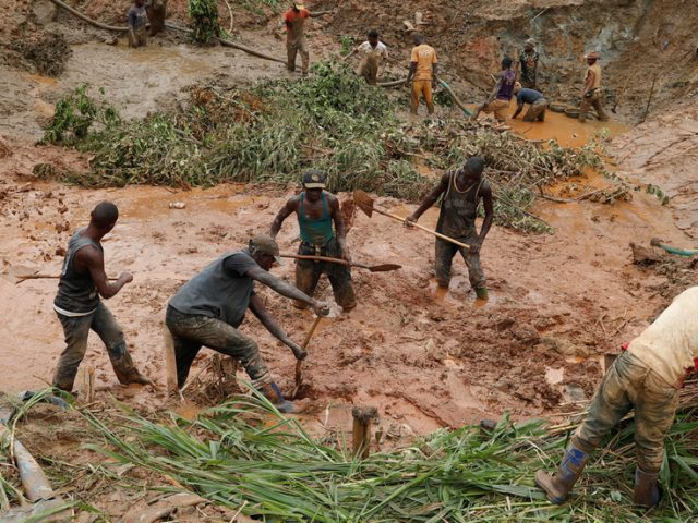 Gold mine collapses in eastern Congo, killing at least 50 people – local NGO