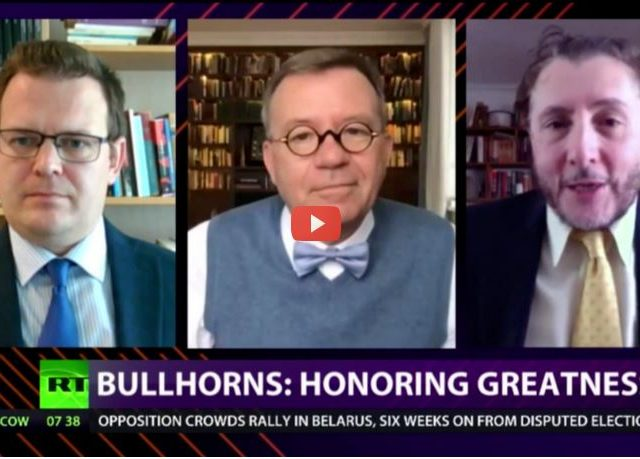 CrossTalk Bullhorns, Quarantine Edition: Honoring greatness