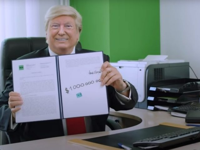 Making news not faking news: Watch Deepfake Donald Trump on his first day working at RT