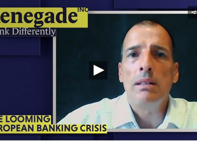 The looming European banking crisis