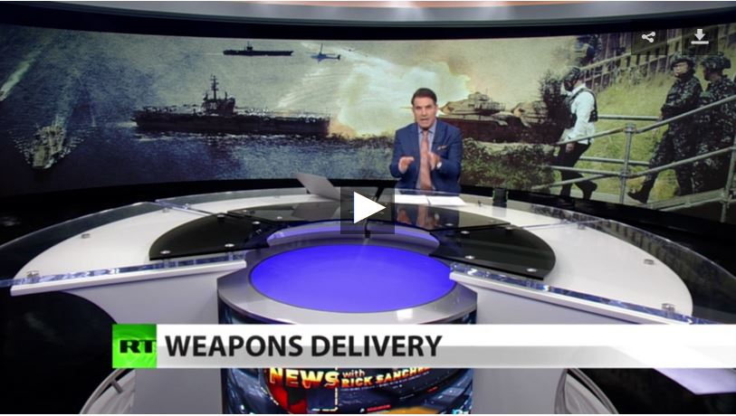 Rick Sanchez weapons delivery