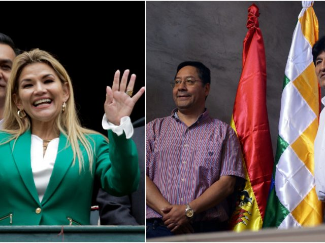 Bolivia's 'interim president' withdraws from upcoming election – one day after poll shows pro-Morales candidate in the lead