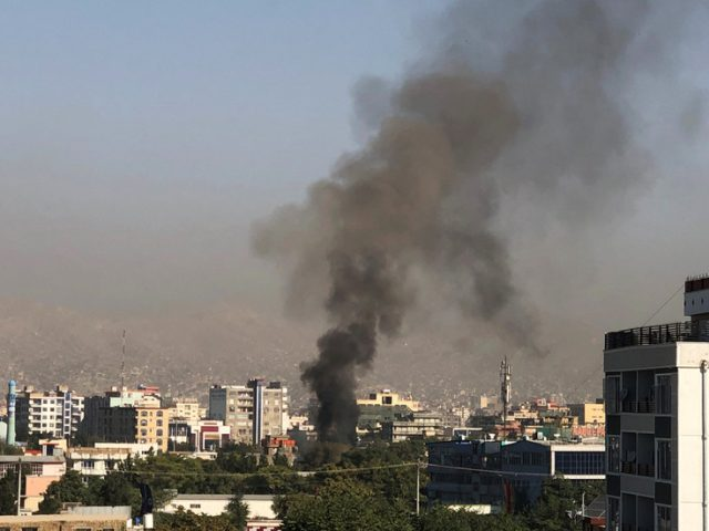 Afghan VP dodges death as deadly roadside bomb blast kills at least 10 in Kabul