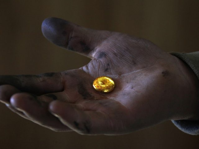 World may be running out of gold with mine production in decline