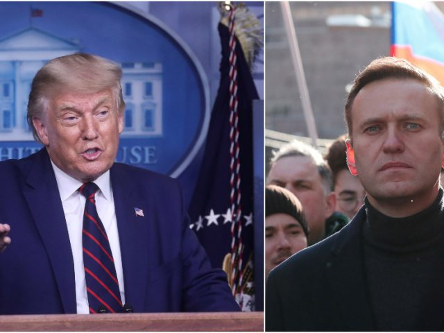 Trump says he's seen NO PROOF of Russian opposition figure Navalny's poisoning – but has no reason to doubt Germany's conclusion