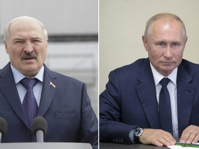 Lukashenko meets Putin in Sochi as western-backed Belarusian opposition figure Tikhanovskaya threatens to cancel any agreements
