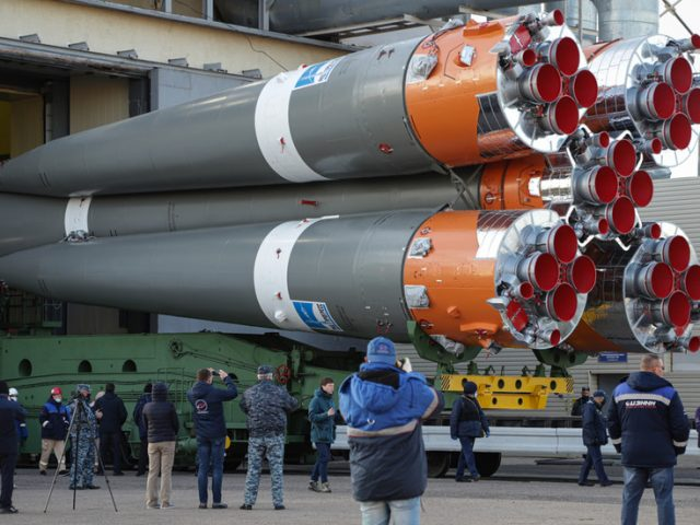 Faster than a Moscow-London flight! Russian Soyuz prepares QUICKEST-EVER crewed trip to International Space Station