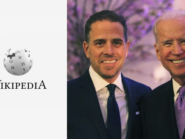 Wikipedia says Hunter Biden scandal 'DEBUNKED', as editing war rages & new page emerges calling it a 'conspiracy'