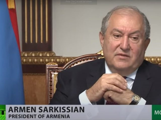 'We should not forget who started this stage of war': Armenian president on Nagorno-Karabakh conflict in exclusive RT interview