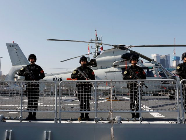 China accuses US of undermining stability after US Navy destroyer sails through Taiwan Strait