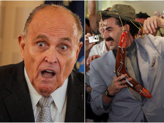 Conservatives accuse Twitter of selectively ignoring own policies on REVENGE PORN, misleading content in Borat prank on Giuliani