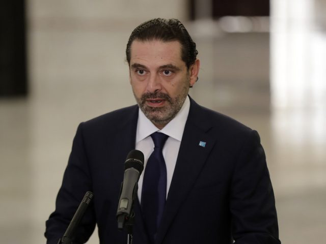 Hariri returns as Lebanon's prime minister, pledges to stop country's economic collapse