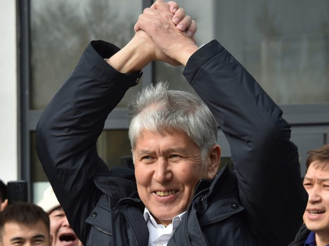 Kyrgyz ex-leader Atambayev detained 4 days after being released from prison amid political unrest & assassination attempt