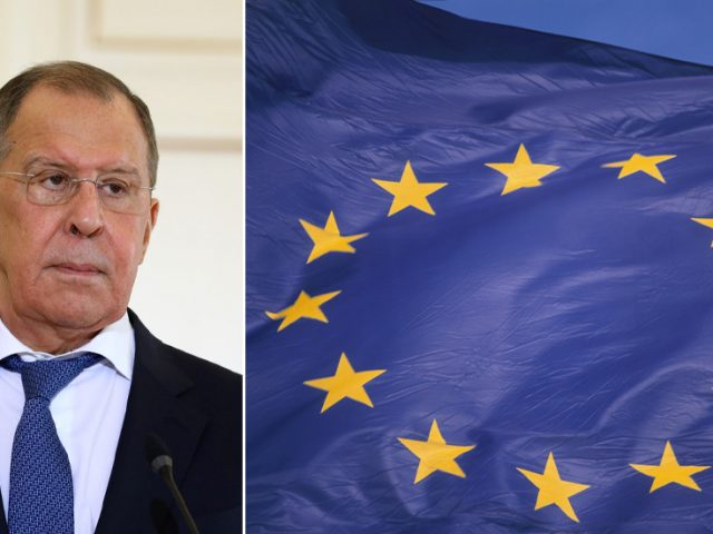 By imposing 'illegitimate' sanctions on Russians, EU officials have shown a 'desire to put themselves above the law' – FM Lavrov