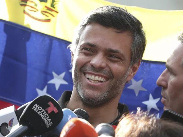 Venezuelan Opposition Figure Lopez Arrives in Madrid After Fleeing Caracas, Reports Say