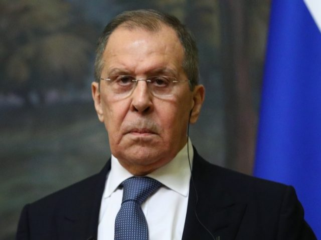 Veteran Russian Foreign Minister Sergey Lavrov self-isolates after coming into contact with person diagnosed with Covid-19