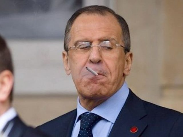 Lavrov Has Had It. Proposes Russia Stops Talking to the West