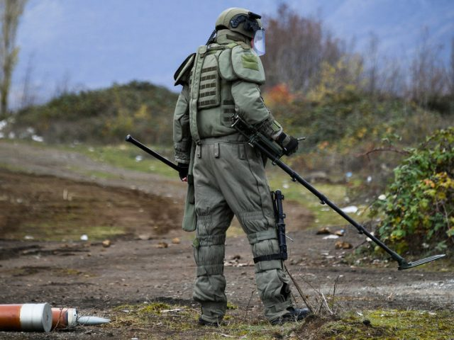 Russian peacekeeper wounded, Azeri serviceman killed in landmine blast as work to uphold Nagorno-Karabakh ceasefire continues