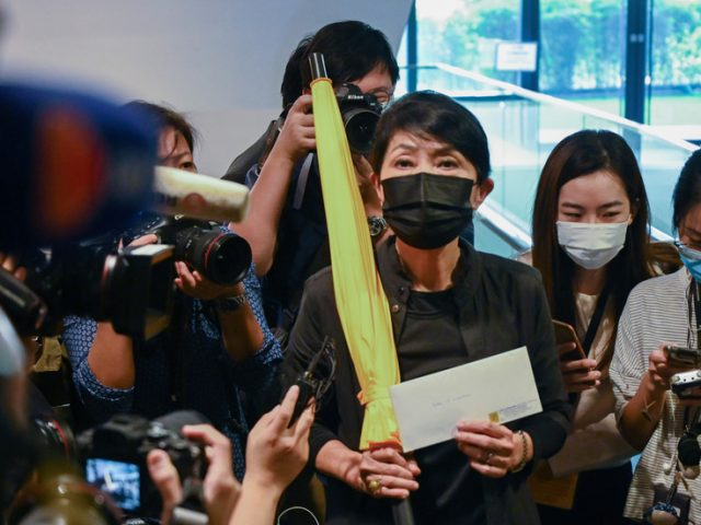 By allowing expulsion of opposition Hong Kong legislators, China broke treaty with UK – London