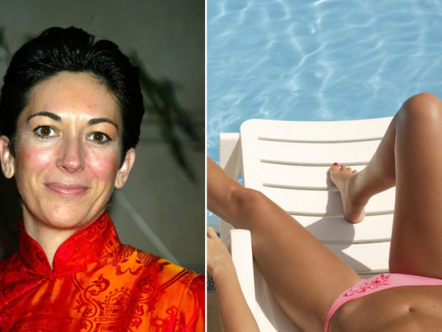 Ghislaine Maxwell 'constantly' snapped PHOTOS of topless girls at pedo Epstein's mansion, kept pictures in album