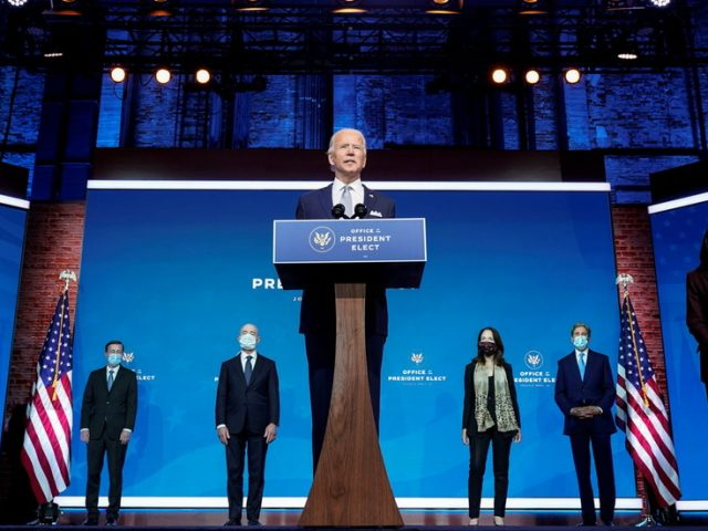 Biden promises to LEAD THE WORLD with his 'fresh thinking' security team