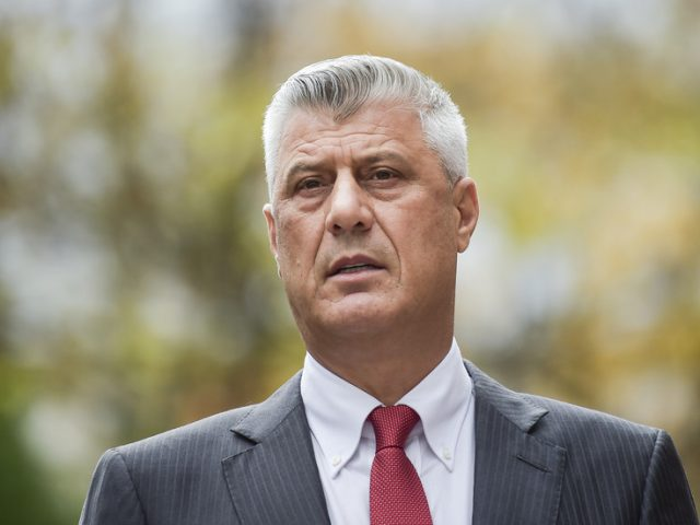 Kosovo President Hashim Thaci resigns to face war crimes charges at The Hague