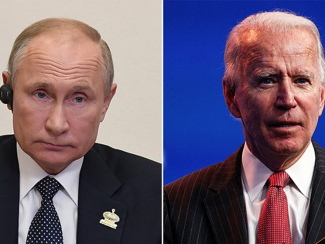 Putin says he will congratulate Biden on victory when official US presidential results are announced or Trump concedes defeat