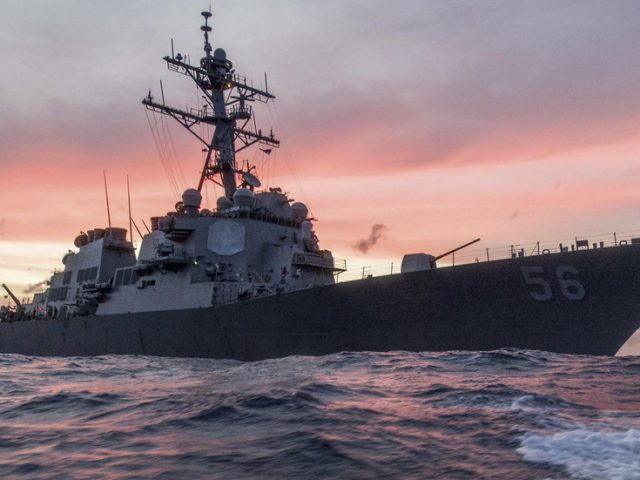 US Navy defends entering Russian waters by blasting Moscow's 'EXCESSIVE' maritime claims