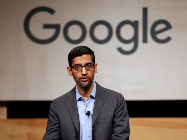 EU warns Google CEO Sundar Pichai it won't allow the web to remain the 'Wild West' any longer