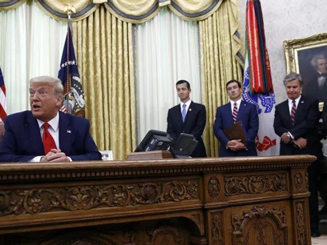 Trump Mulling Firing Top Officials at the Pentagon, FBI, CIA, Report Claims