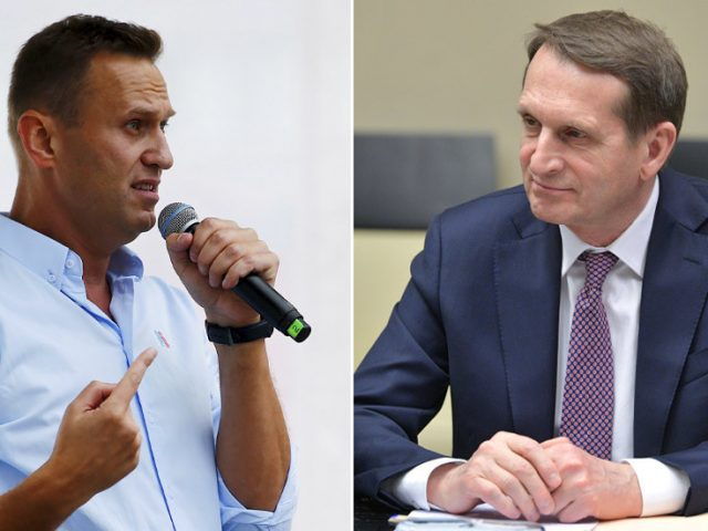 Navalny ridicules Russian intelligence chief for suggestion he may have been poisoned by NATO as a 'sacred sacrifice'