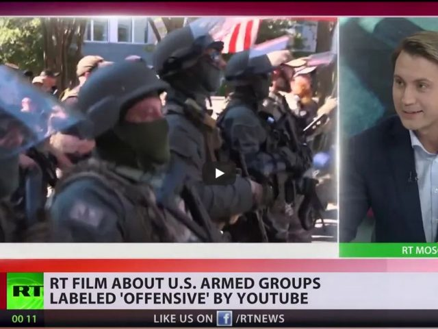 'Offensive' & 'inappropriate' | YouTube labels RT documentary on radical US groups