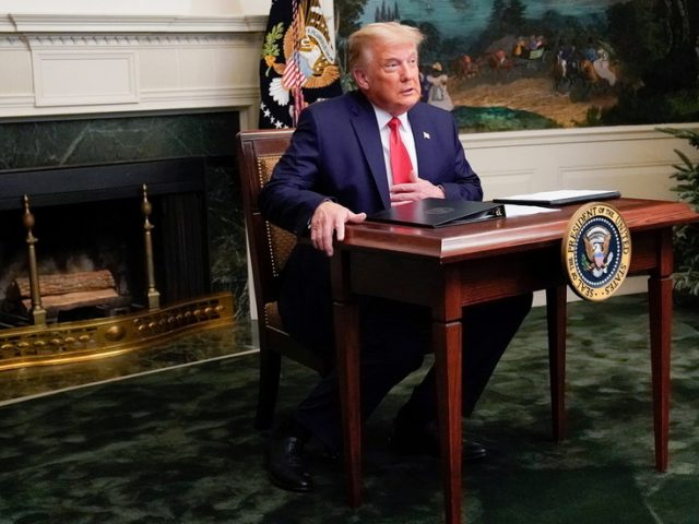 'Resolute Desk Total Landscaping': Trump fumes as his Thanksgiving presser goes viral over 'kids table,' not 'vote fraud' message