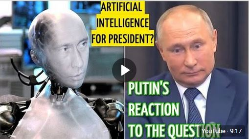 "Putin Puzzled By ""Russian Alexa"" Question: Can Artifical Inteligence Take Over His Presidential Job?"