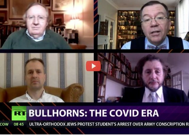 CrossTalk Bullhorns, QUARANTINE EDITION: The Covid era