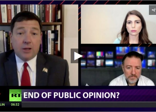CrossTalk, QUARANTINE EDITION: The end of public opinion?