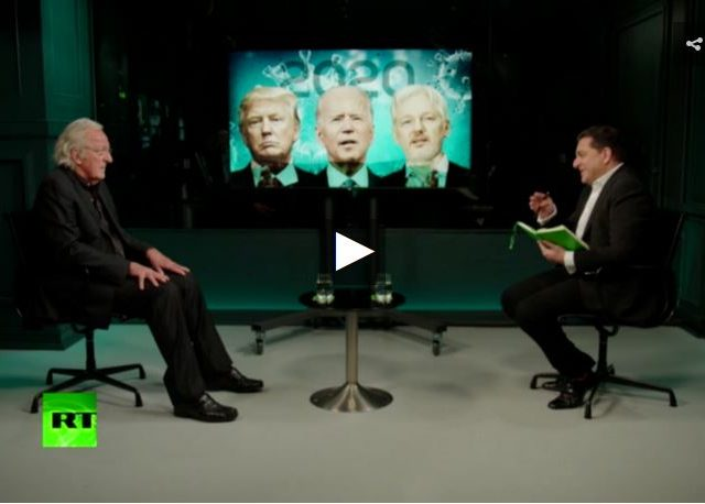 John Pilger on the new Cold War with China, Biden's victory & coronavirus